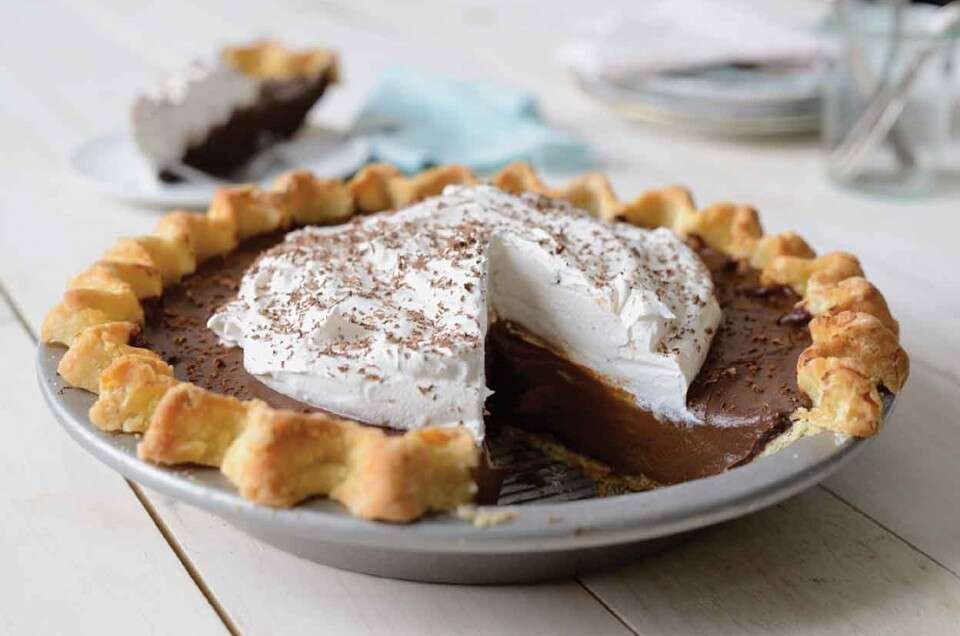 Gluten-Free Chocolate Cream Pie