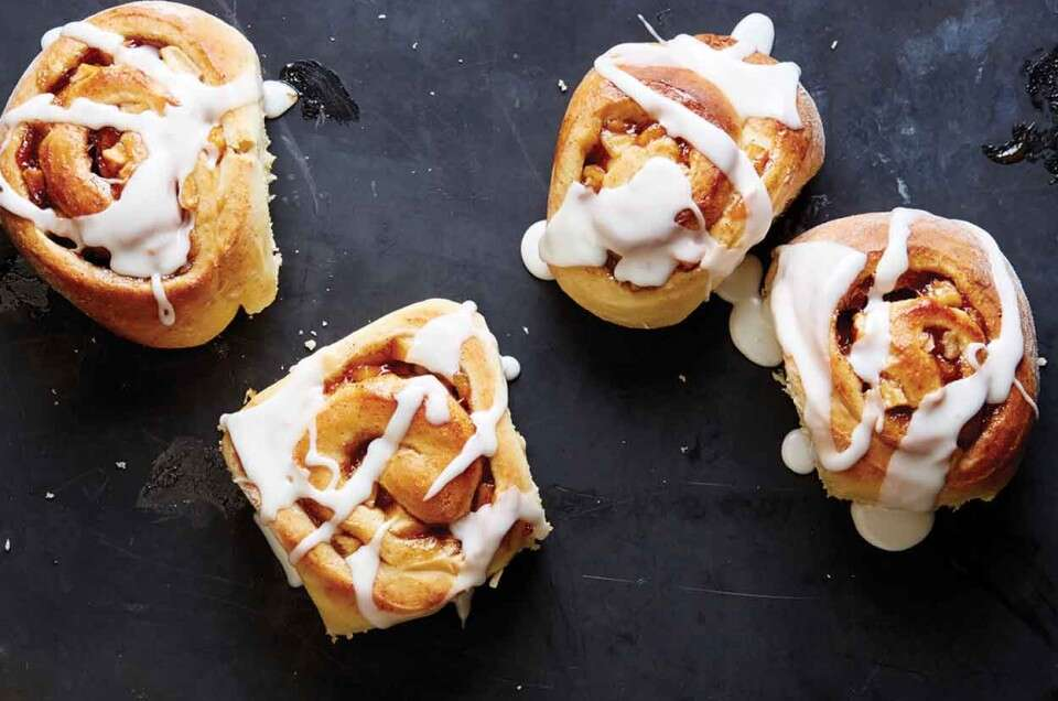 Butterscotch Apple Sweet Rolls