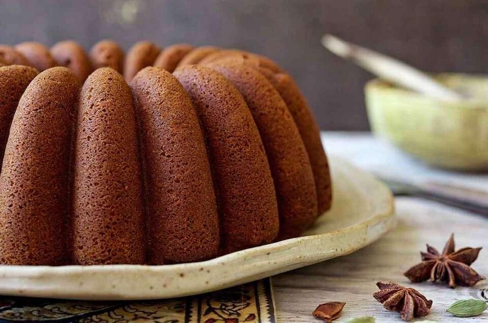 Chai-Spiced Pound Cake