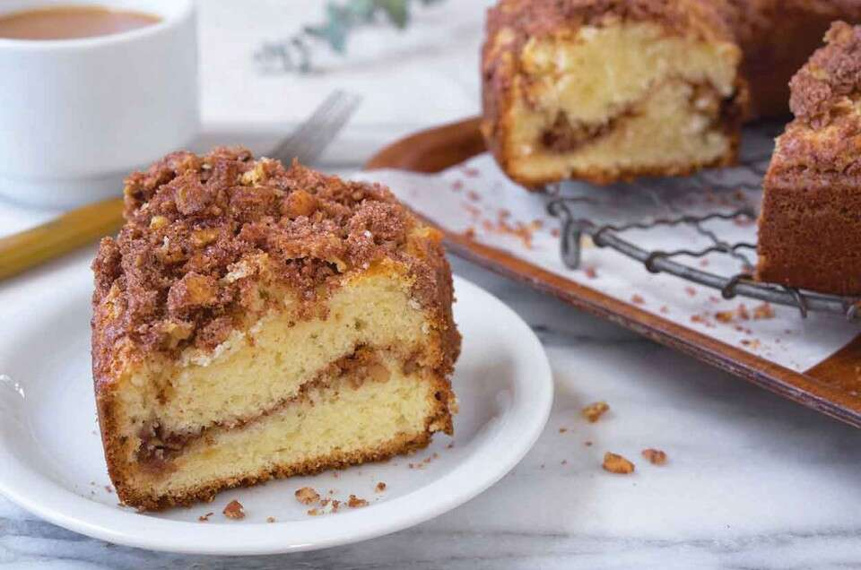 Our Favorite Sour Cream Coffeecake