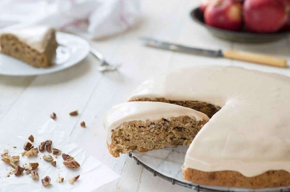 Sprouted Wheat Vegan Spice Cake