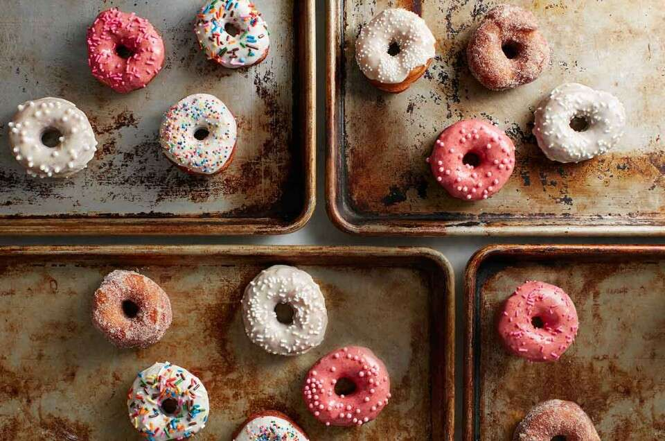 Yeast-Raised Doughnuts