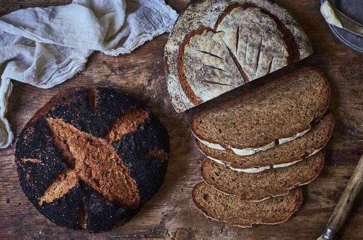 Jeffrey Hamelman's Black Bread