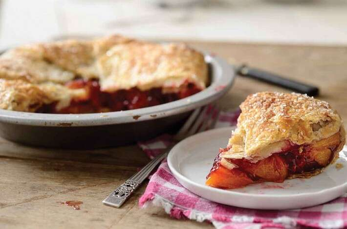 Rustic Raspberry-Peach Pie