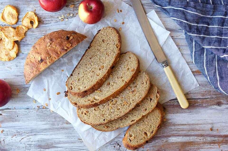 Apple Oat Barley Bread King Arthur Baking