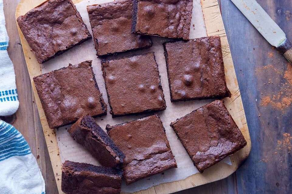 Our Ultimate Chewy Brownies