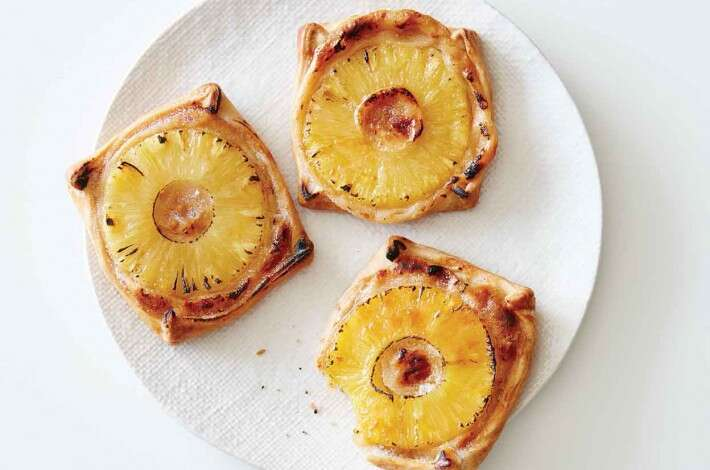 Pineapple Tarts with Ginger-Miso Filling