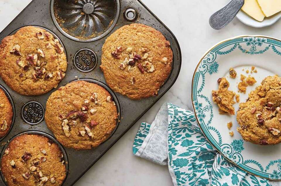 Butter-Pecan Corn and Sorghum Muffins