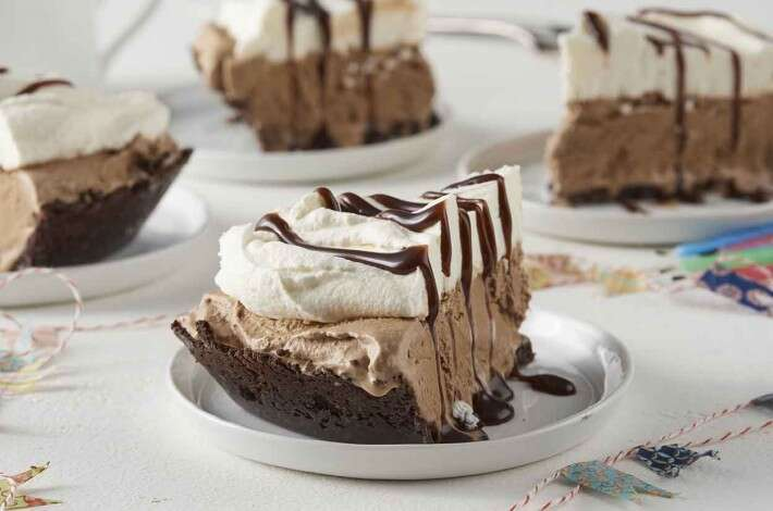 Mocha Madness Ice Cream Pie