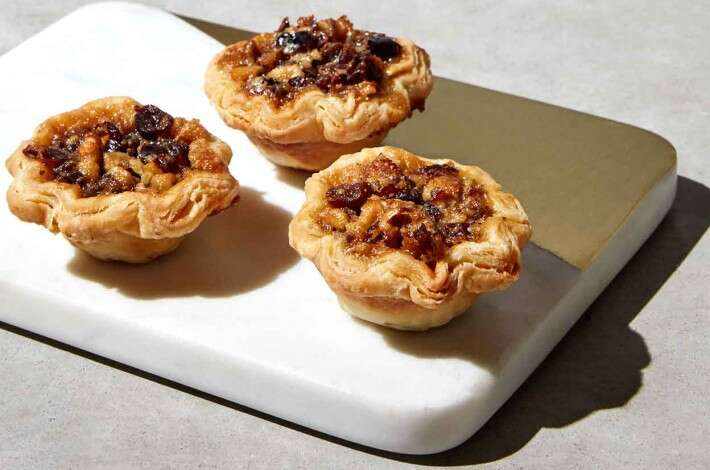 Cranberry and Walnut Butter Tartlets