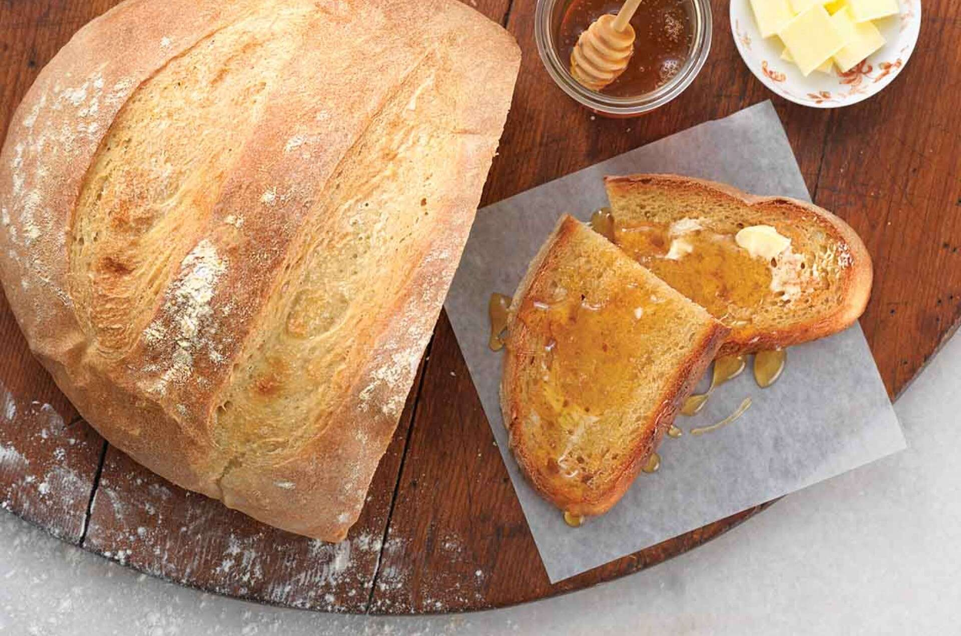 King Arthur's French-Style Country Bread Recipe