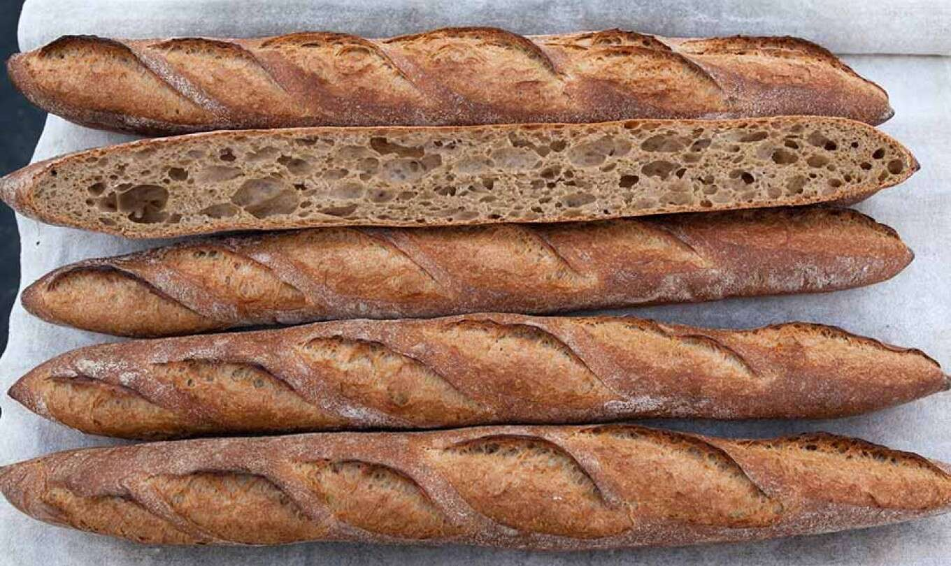 Sprouted Wheat Baguette
