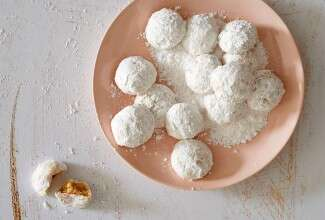 Grain-Free Wedding Cookies