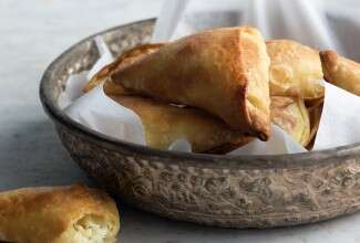 Byrek (Albanian Cheese Triangles)