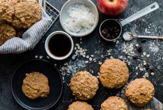 Morning Glory Breakfast Cookies