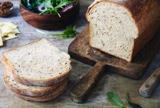 Seeded Rye Sandwich Bread