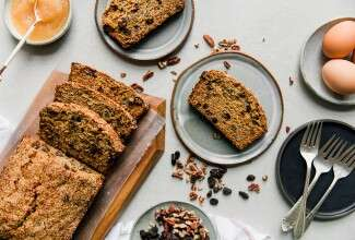 Easy Whole Wheat Apple-Raisin Bread