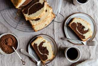 Old-Fashioned Marble Cake