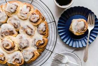 Instant Gratification Cinnamon Buns