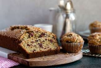 Cranberry-Walnut Bread & Muffins