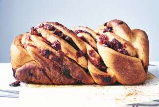 Cranberry-Orange Babka
