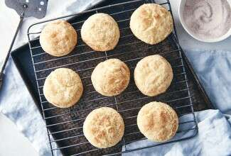 Gluten-Free Snickerdoodles made with baking mix