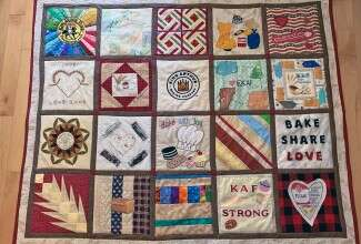 King Arthur Baking Company quilt