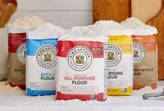 Group of King Arthur flours