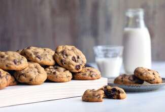 Gluten-Free Soft Chocolate Chip Cookies