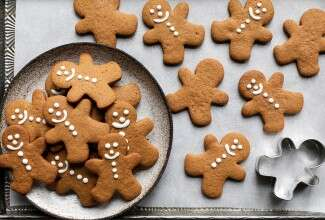 Gluten-Free Roll-Out Gingerbread Cookies