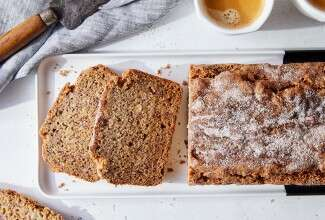 Gluten-Free Whole Grain Banana Bread