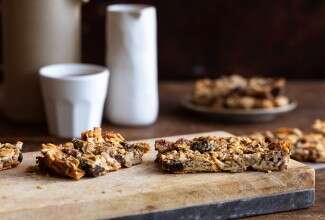 Coconut, Fruit & Nut Bars