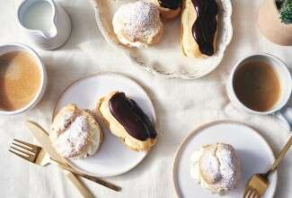 Gluten-Free Cream Puffs and Éclairs