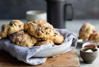 Gluten-Free Scones made with baking mix
