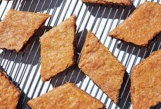 Thrice-Baked Rye Cookies