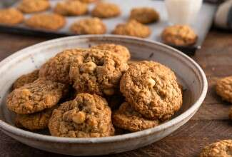 Butterscotch Macadamia Nut Cookies