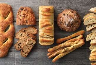Great breads and spreads via @kingarthurflour