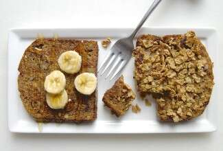 Banana Bread for Breakfast via @kingarthurflour