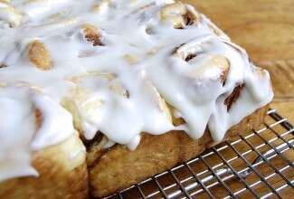 Cinnamon Rolls via @kingarthurflour