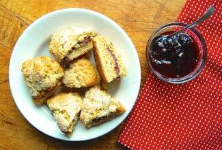 Filled scones-1 via @kingarthurflour
