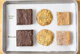 Dairy-free cookies and brownies via @kingarthurflour
