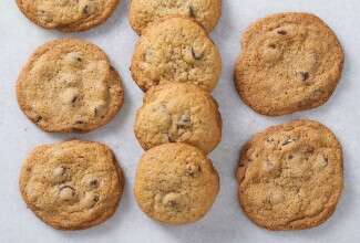 Essential Goodness Chocolate Chip Cookies via @kingarthurflour