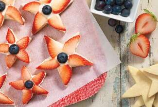 King Arthur Flour Berry Star Cookies