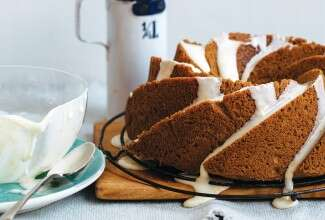 Gluten-free Citrus Bundt Cake via @kingarthurflour