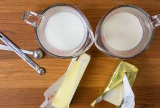 How to bake dairy-free via @kingarthurflour