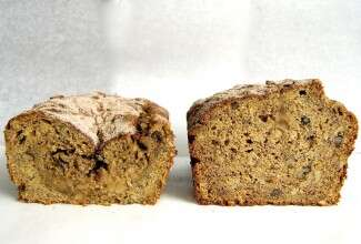 How to tell when banana bread is done via @kingarthurflour