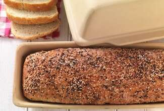 How to use your Long Covered Baker via @kingarthurflour