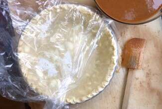 Make and freeze pie crust via @kingarthurflour