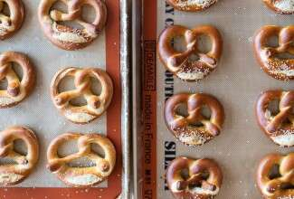 Making Classic Pretzels at Home via @kingarthurflour-1