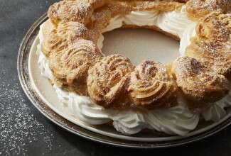 Paris Brest via @kingarthurflour